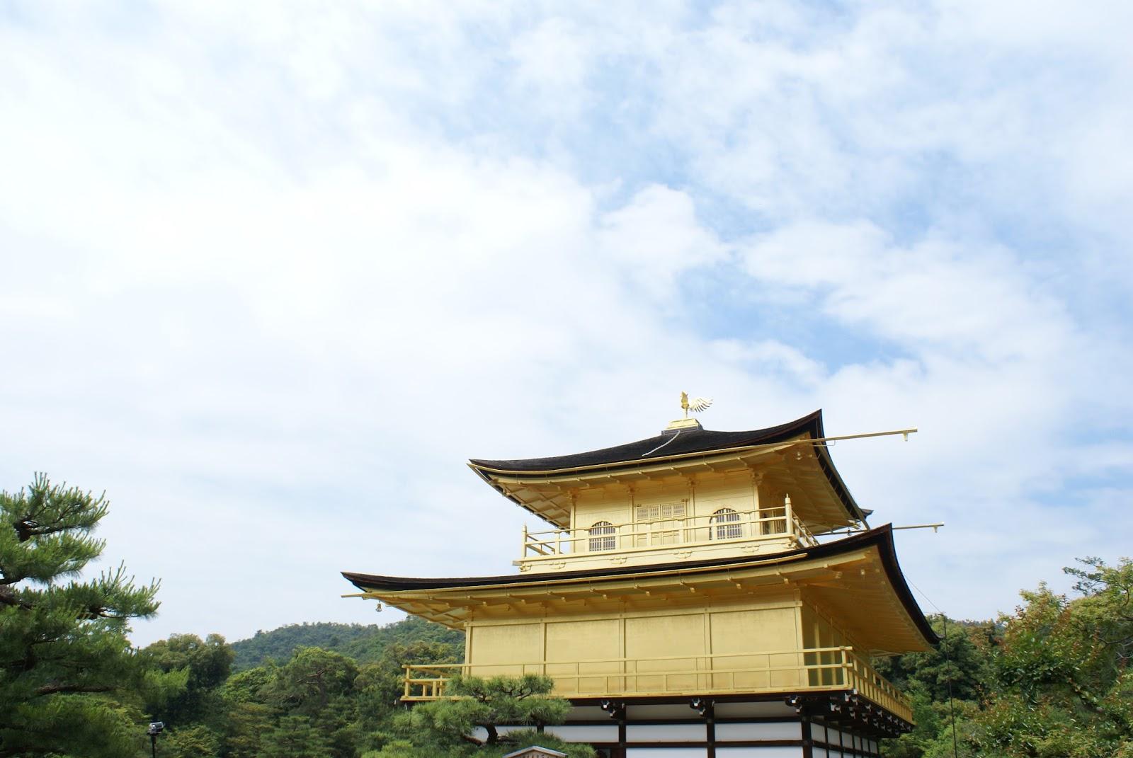 kinkaku ji buddhist temple kyoto kansai japan asia