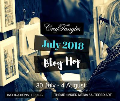 Lipcowy Blog Hop w CrafTangles/ CrafTangles July Blog Hop