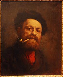 Gustave Courbet, l'homme à la pipe