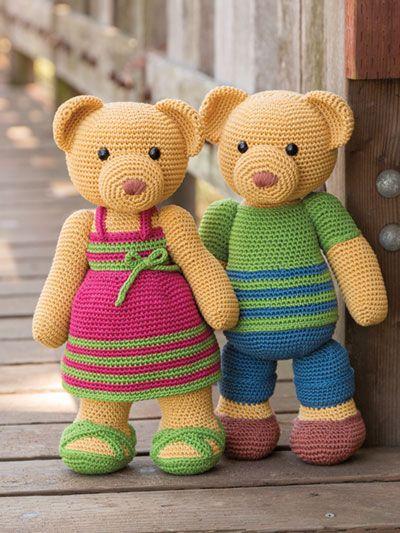 Lovely Teddy Bear Amigurumi - Tutorial #amigurumi #crochet ... | 533x400