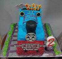 Kue Tart Ulang Tahun Kereta Api Thomas