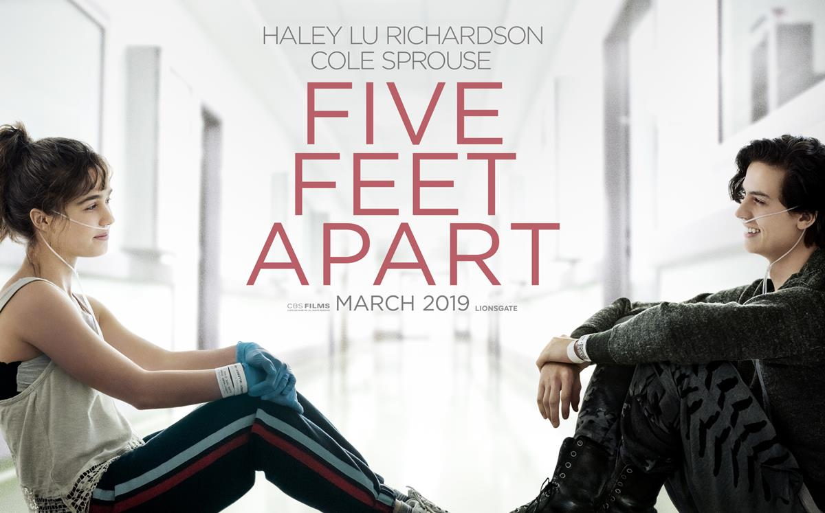film maret 2019 five feet apart cole sprouse