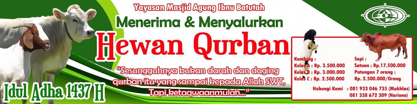 Contoh Banner Jual Hewan Qurban - kumpulan gambar spanduk