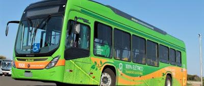 BYD divulga fotos do novo ônibus 100% elétrico que começa a rodar em Bauru