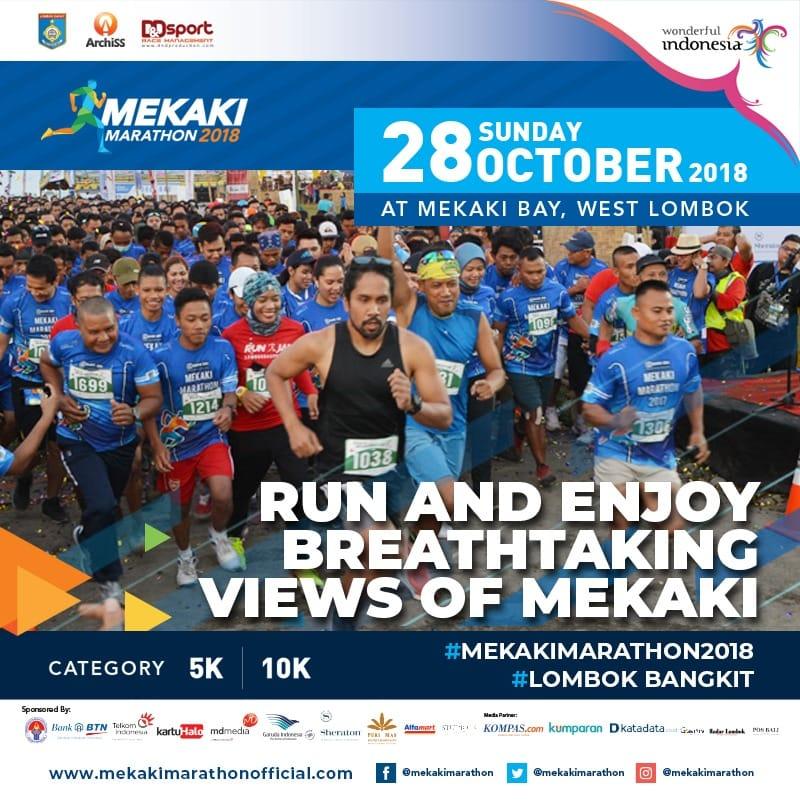 Blibli Mekaki Marathon • 2018
