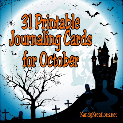 Make time for yourself this October by journaling your thoughts and memories on these printable cards that are perfect for following along with the #ListersGottaList challenge.  Or use these 31 printable journaling cards to scrapbook and record your October memories.