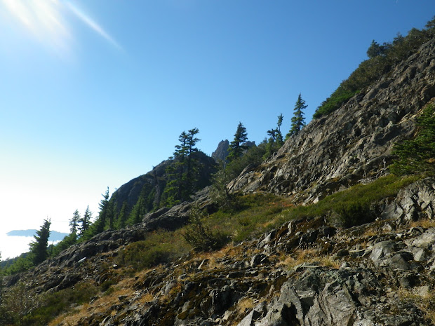 Climbing Mount Washington