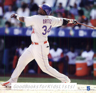 sample page #3 from DAVID ORTIZ: BASEBALL STAR by Ann Hoffman