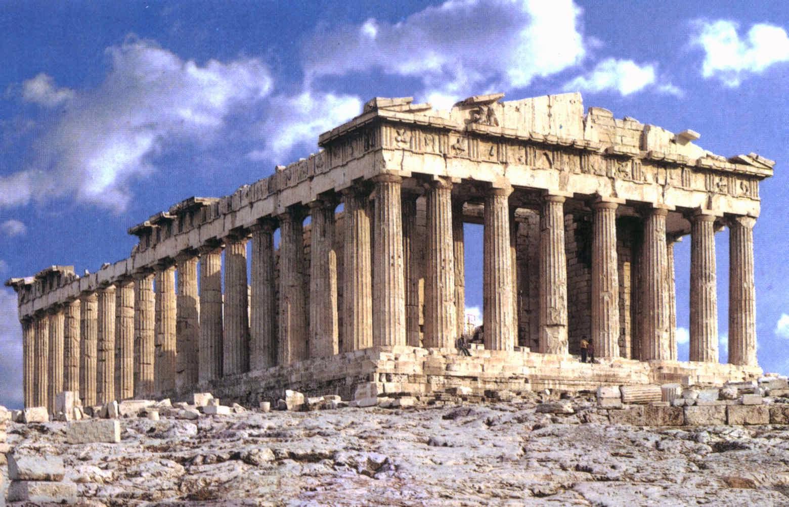 Arquitectura En La Antigua Grecia Templo Griego Características Paisaje Asentamiento Historia De La Arquitectura