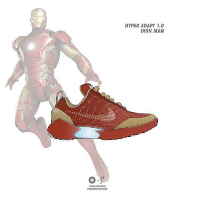 Iron Man x Nike Hyper Adapt 1.0