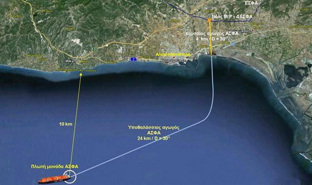 Απαιτείται επικαιροποίηση της ΜΠΕ για τον τερματικό σταθμό LNG της Αλεξανδρούπολης