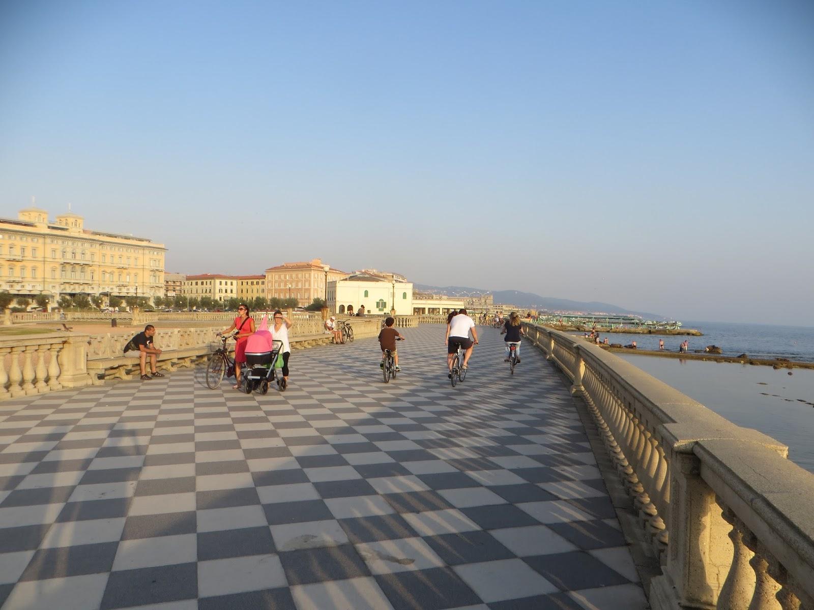 Reportage On Way Terrazza Mascagni Livorno
