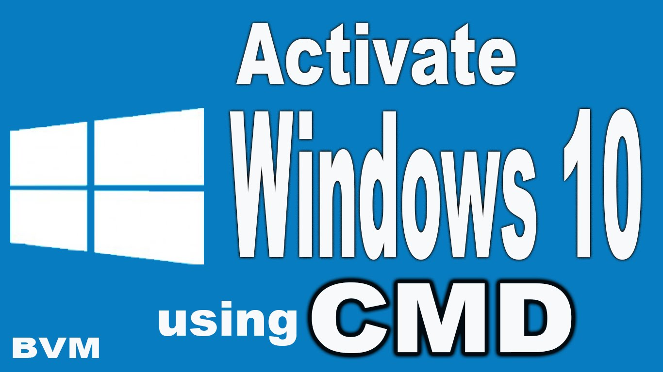 How to activate windows 10 using command prompt cmd my techs tips just use command prompt and activate your windows 10 without spending a single coin so heres a work around about activating windows 10 using cmd ccuart Choice Image