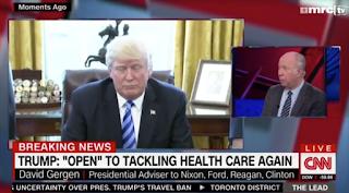 Delusional David Gergen: Trump's First 100 Days 'Worst We've Ever Seen'