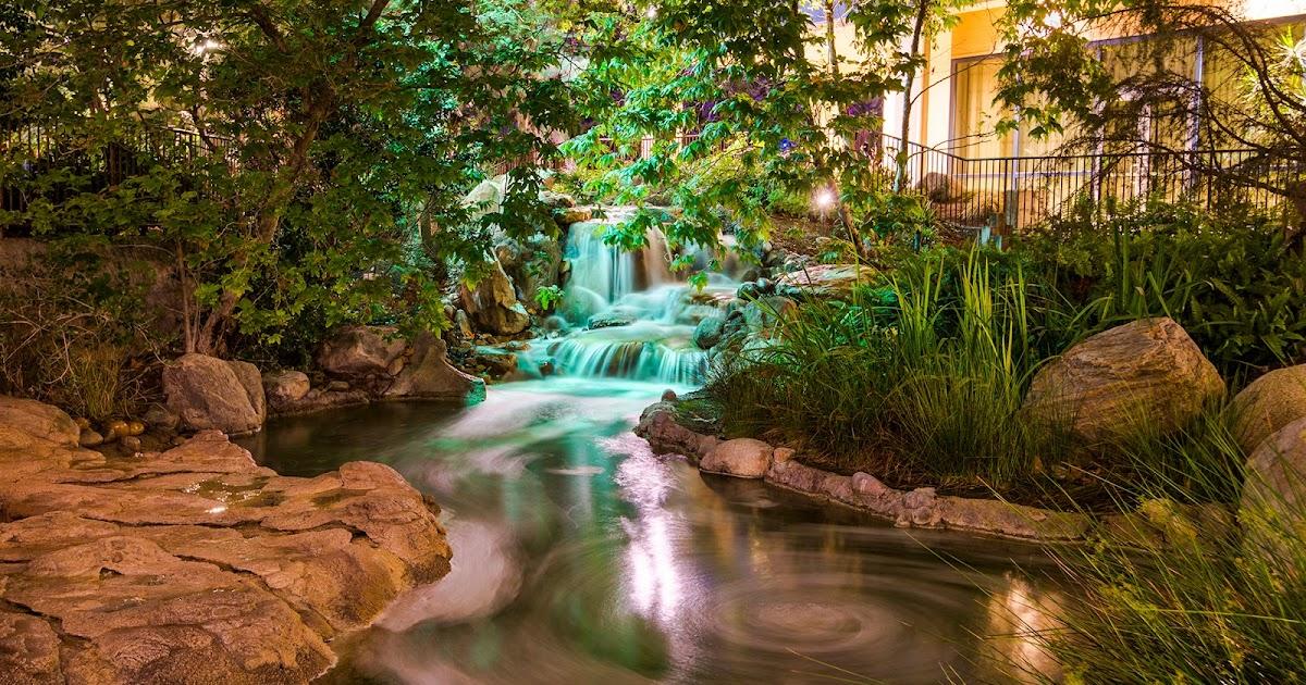 The Disneyland Hotel Waterfall