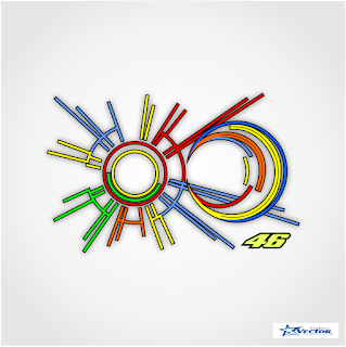 Sun & Moon Rossi Logo Vector cdr