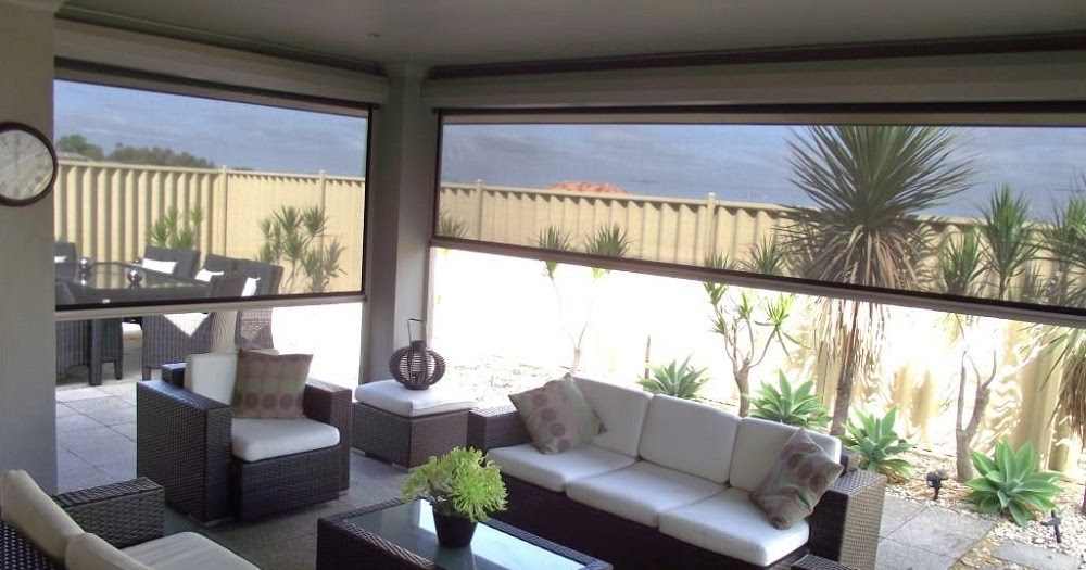 Things to consider when buying plastic patio blinds oz for Exterior no chain window shade