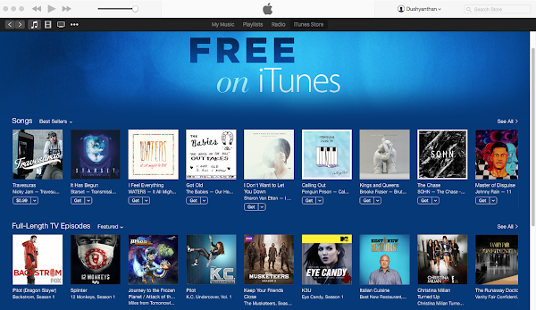 Free on iTunes (1)