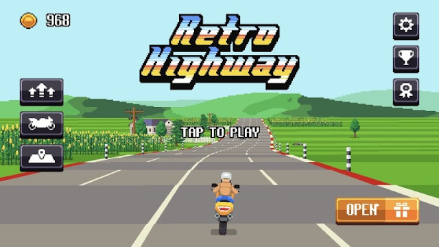 Game 8Bit Highway: Retro Racing