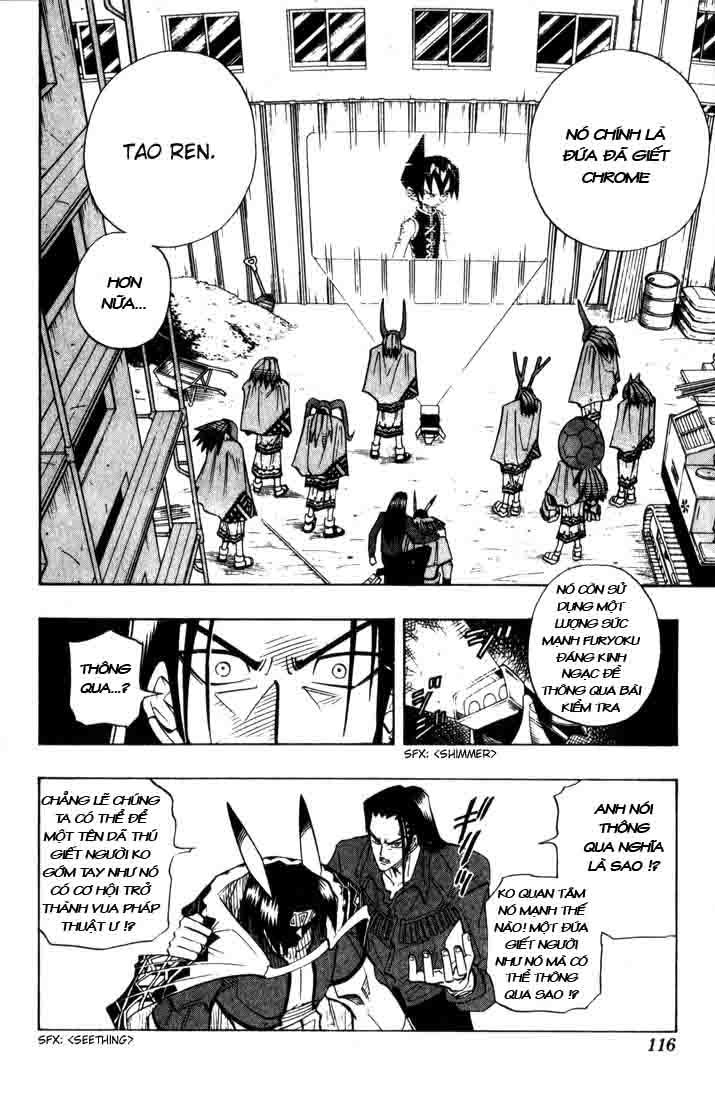 Shaman King [Vua pháp thuật] chap 32 trang 9
