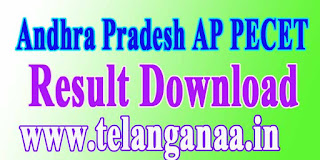 Andhra Pradesh AP PECET APPECET 2017 Results Download