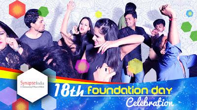 SynapseIndia Foundation Day celebration in 2018 at Sariska Palace, Rajasthan