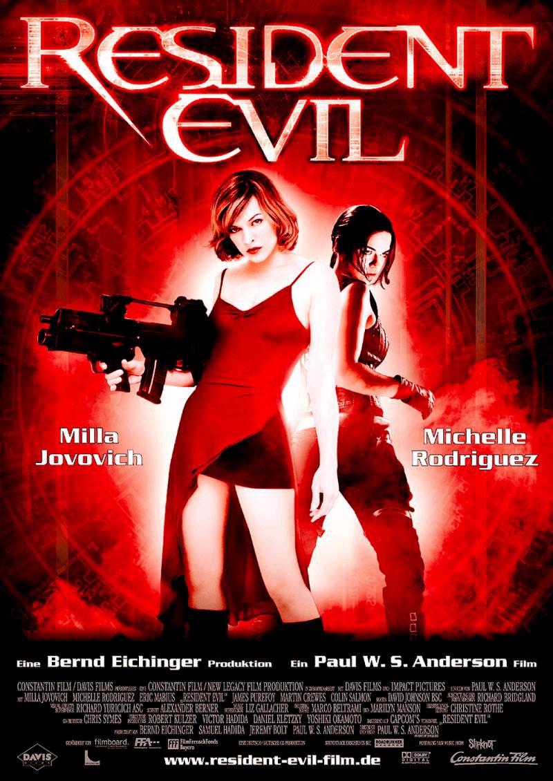 Resident Evil 1 (El huésped maldito) (2002)|Latino| |Película| |Mega|