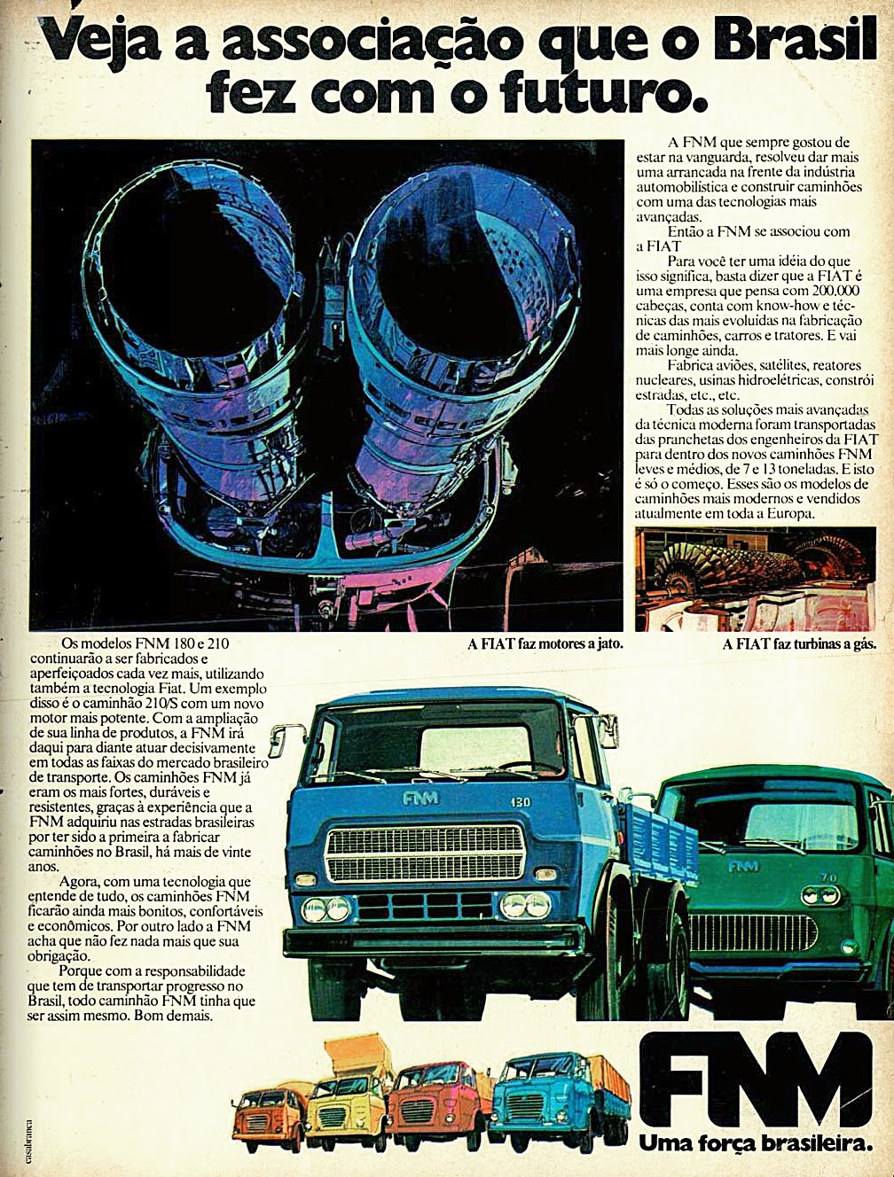 1975. brazilian advertising cars in the 70. os anos 70. história da década de 70; Brazil in the 70s; propaganda carros anos 70; Oswaldo Hernandez;