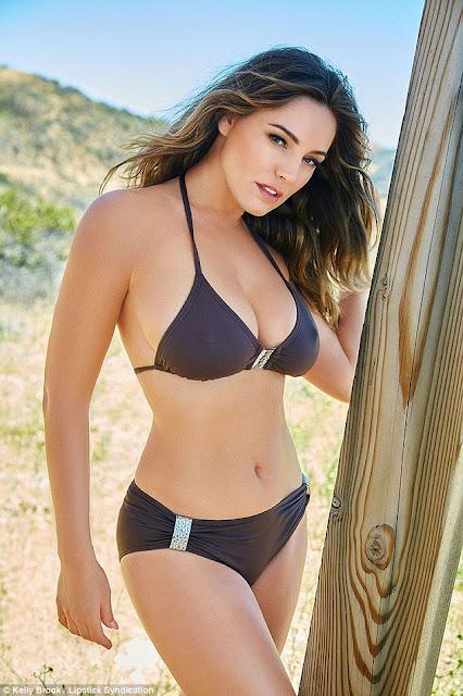 Hot girls Kelly Brook British sexy bomb lady 8