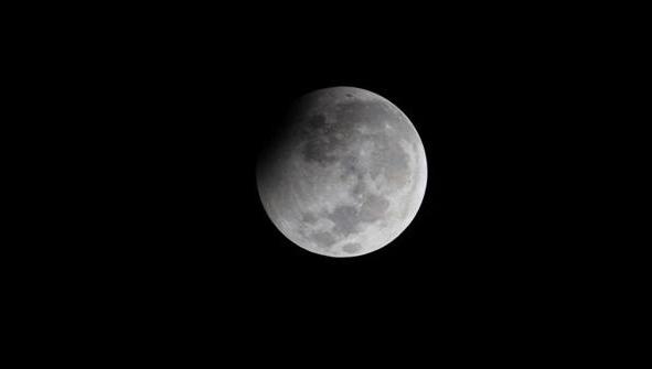 AGEN BOLA - Begini Penampakan Gerhana Bulan di Langit NTT