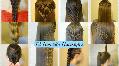Top 12 Hairstyles Of The Year With Tutorials