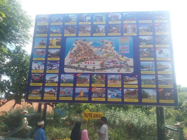 Peta wisata bahari lamongan