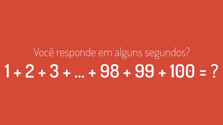 O cálculo rápido de Gauss