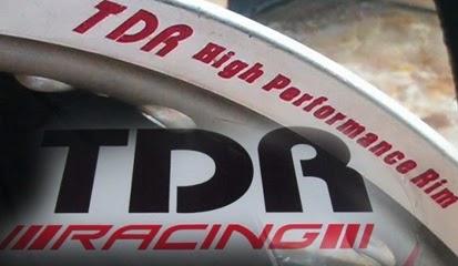 Brosur Daftar Harga Velg TDR Racing Terbaru 2015