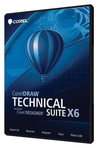 CorelDRAW Technical Suite X6 Versión 16.3.0