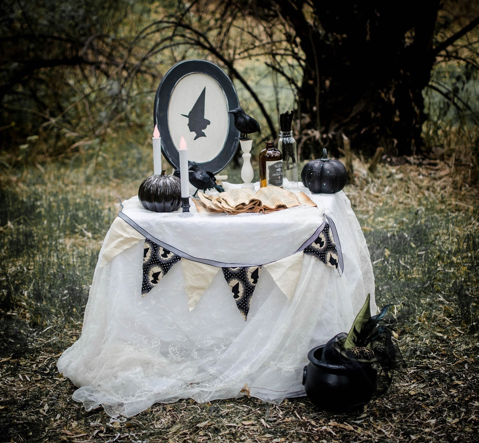 The Witch Themed Party: Fawn: Wee Witches Tea Party