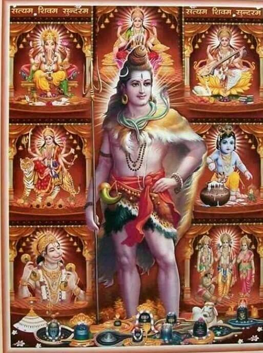 Good Morning Shiva Image