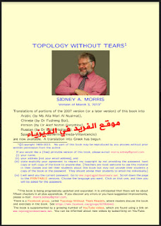 TOPOLOGY WITHOUT TEAPS  SIDNEY A. MORRIS
