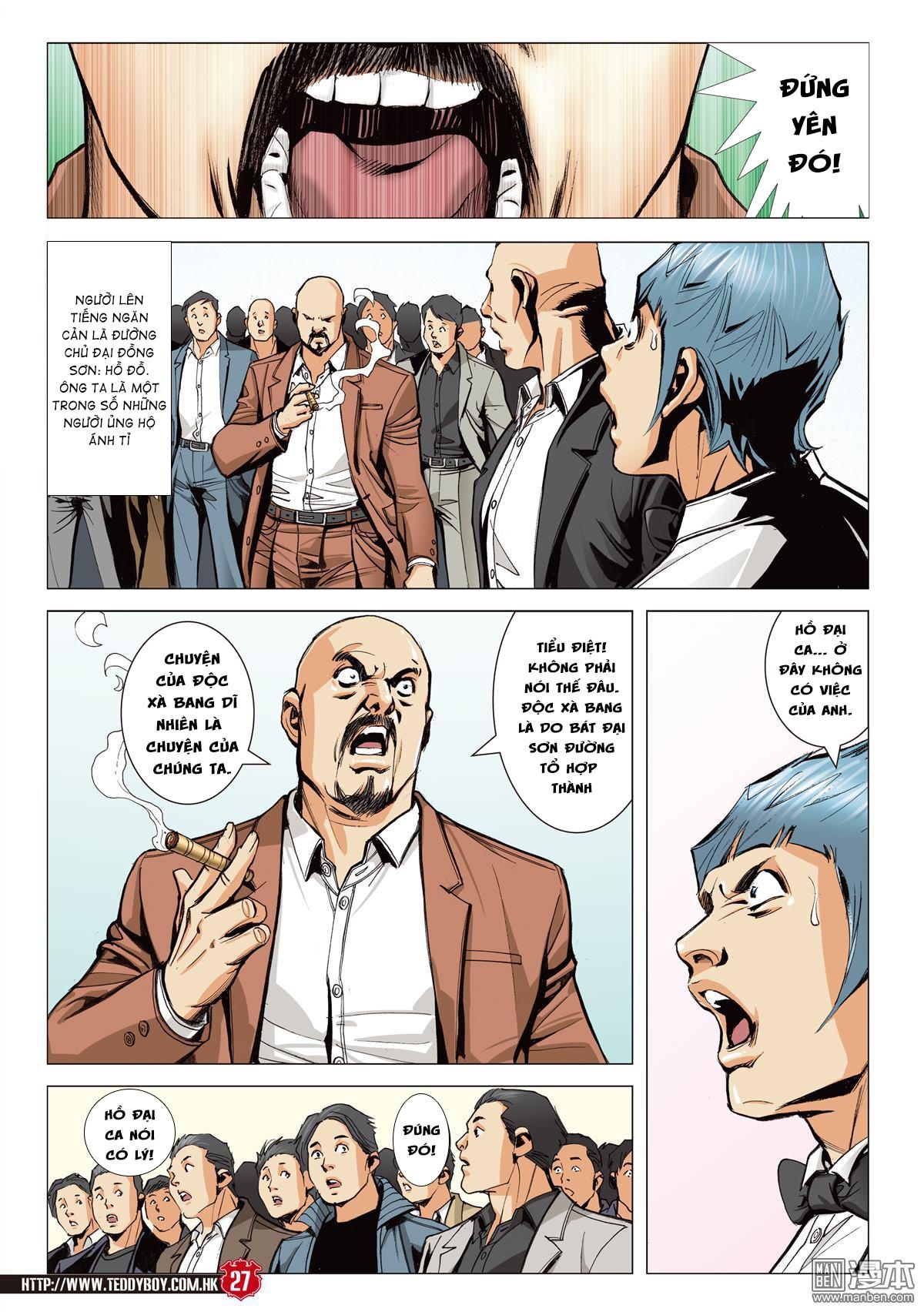 Người Trong Giang Hồ chapter 2067: ánh tỉ làm phản trang 24