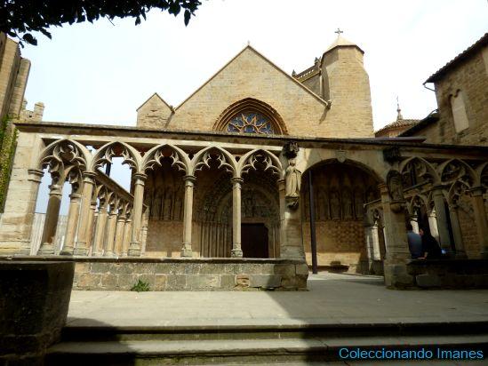Claustro exterior del Palacio de Olite - Castillo de Olite -