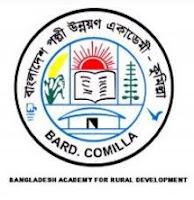 Bangladesh Academy for Rural Development (BARD) - Recruitment circular