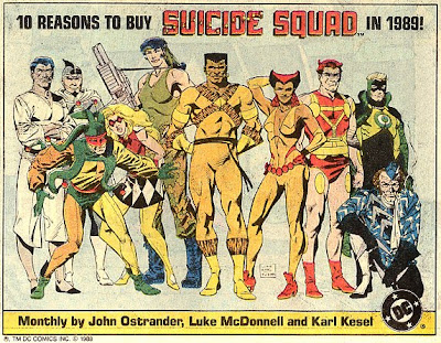 Suicide Squad From 1989