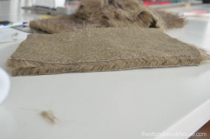 Right way to cut fur