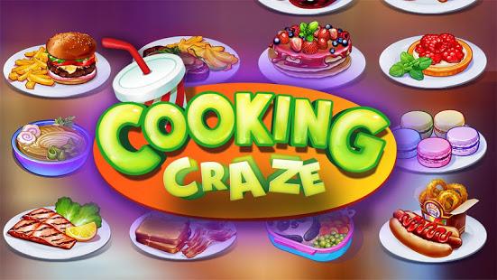 Cooking Craze v1.31.0 Apk Mod [Dinheiro Infinito]