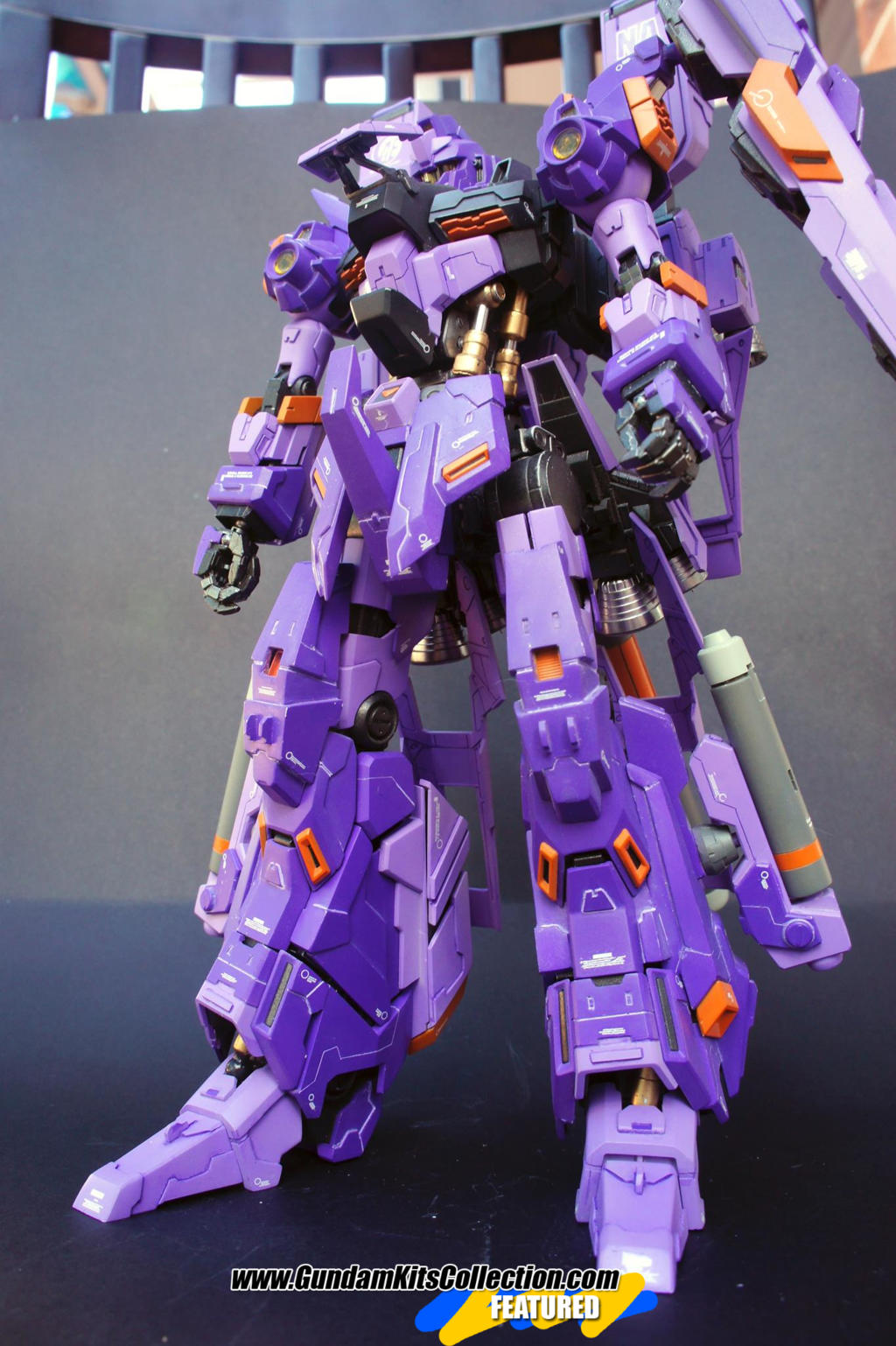 Custom Build: MG 1/100 RGZ-95-C ReZEL II - WILLBREAKER
