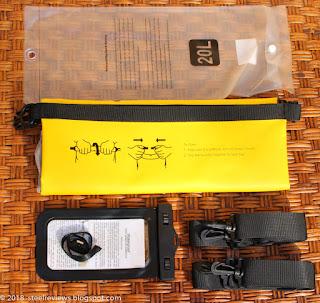 GoComma  waterproof kayaking dry bag