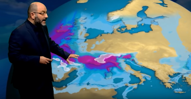 Που θα πέσουν χιόνια τις επόμενες ώρες (βίντεο)