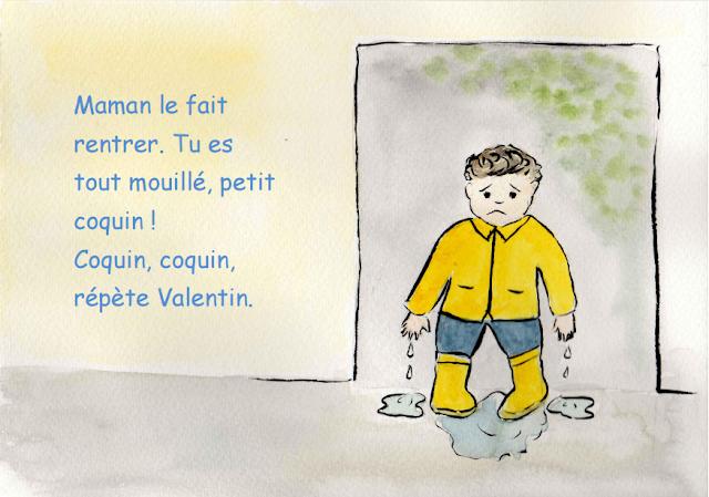 Vive la pluie - Petite conte pour les enfants