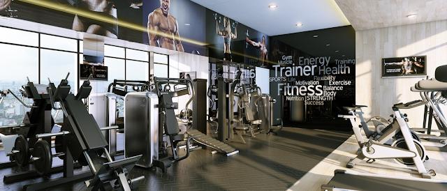 Phòng tập Gym chung cư Marriott