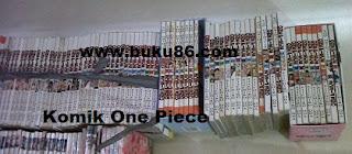 Komik One Piece Bekas Lengkap